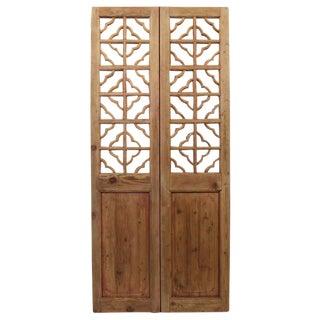 Vintage Screen Doors With Mirror