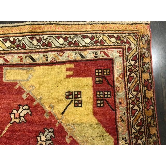 "Bellwether Rugs Vintage Turkish Oushak Rug - 5'9""x8'9"" - Image 7 of 9"