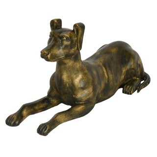 Sarreid Ltd Cast Iron Reclining Dog