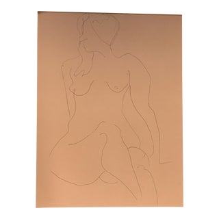 Nude Line Drawing
