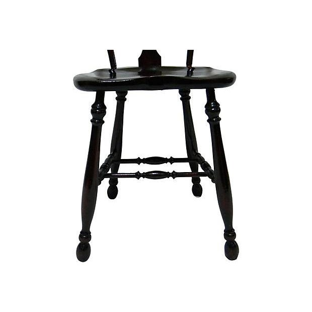 Image of 19th Century Bow Back Chair