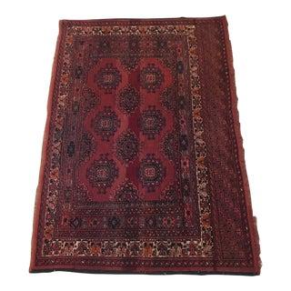 Handmade Persian Rug - 3′2″ × 4′3″