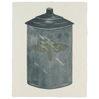 "R. Delamater ""Moth"" Monotype"
