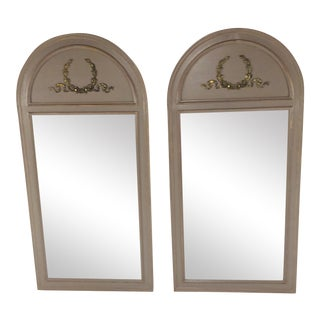 Henredon French Empire Style Mirrors - a Pair