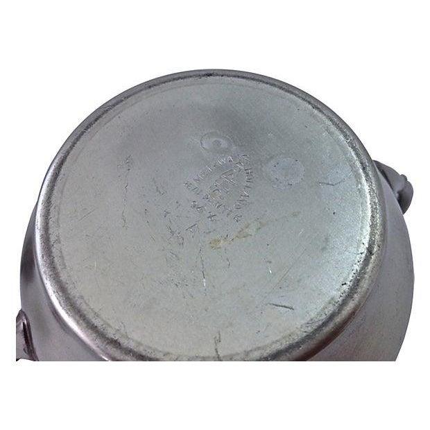 Pewter Teapot Sugar And Creamer - Set of 3 - Image 7 of 7
