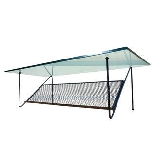Iron & Glass Coffee Table