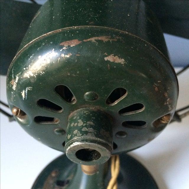 Image of Vintage GE Industrial Table Fan