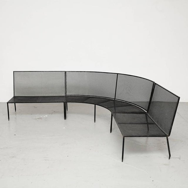 Set of Mathieu Mategot Sofa and Coffee Table, circa 1950 - Image 3 of 8