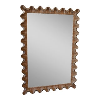 Friedman Brothers Venetian Scalloped Edge Mirror