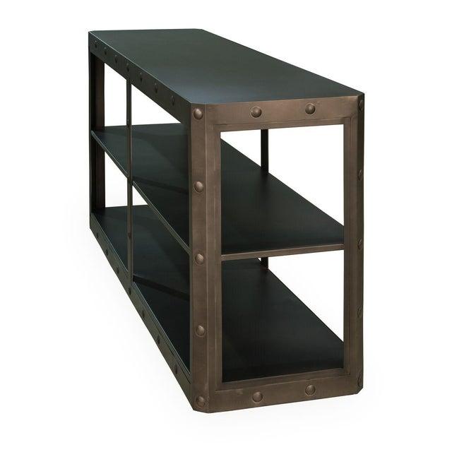 Image of Sarreid LTD Elaine Metal Shelf