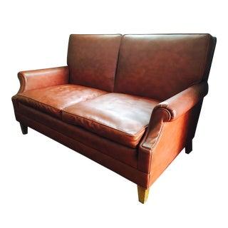 Mid-Century Naugahyde Sofa
