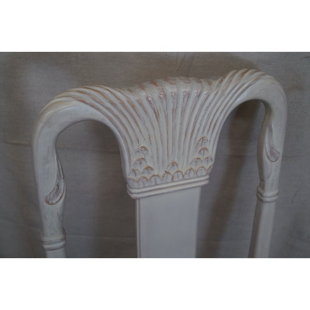 Image of Whitewash Dining Chairs - Set of 10