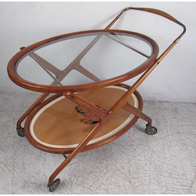 Italian Modern Serving Cart by Cesare Lacca - Image 9 of 9
