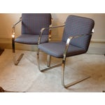 Image of Modern Bruno Style Chairs - A Pair