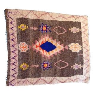 Vintage Moroccan Azilal Berber Rug - 2′10″ × 3′7″