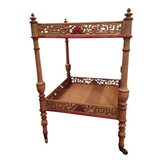 Widdicomb Chinese Chippendale Tea Table