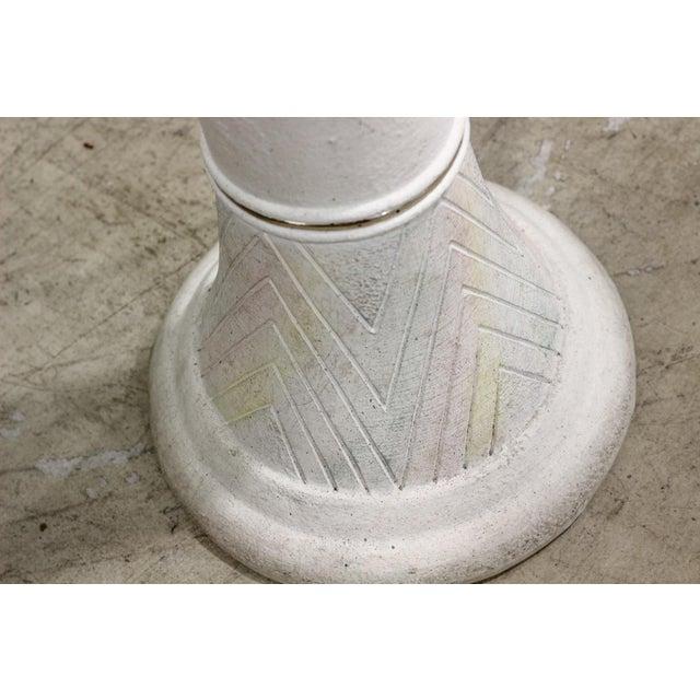Image of White 1980s Vintage Floor Lamp