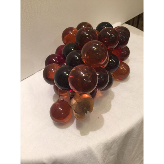 Vintage Acrylic Grape Cluster - Image 4 of 5