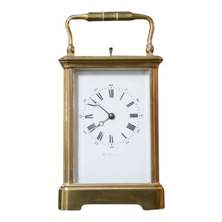 Renard Roitel French Brass Carriage Clock