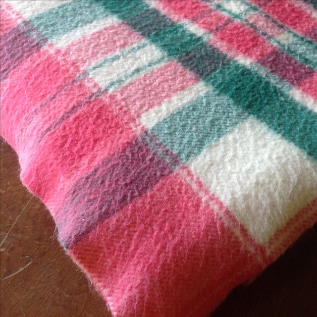 Vintage Plaid Picnic/Gameday Blanket - Image 4 of 11