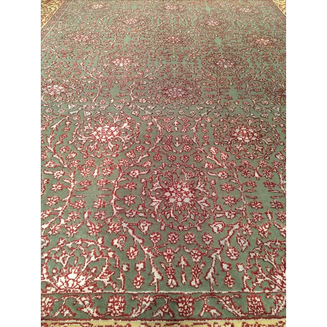 """Pasargad Hand-Knotted Tabriz Rug - 5'8"""" X 8' - Image 2 of 4"""