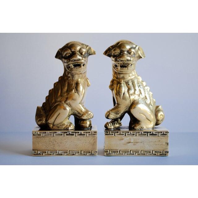 Image of Brass Foo Dogs