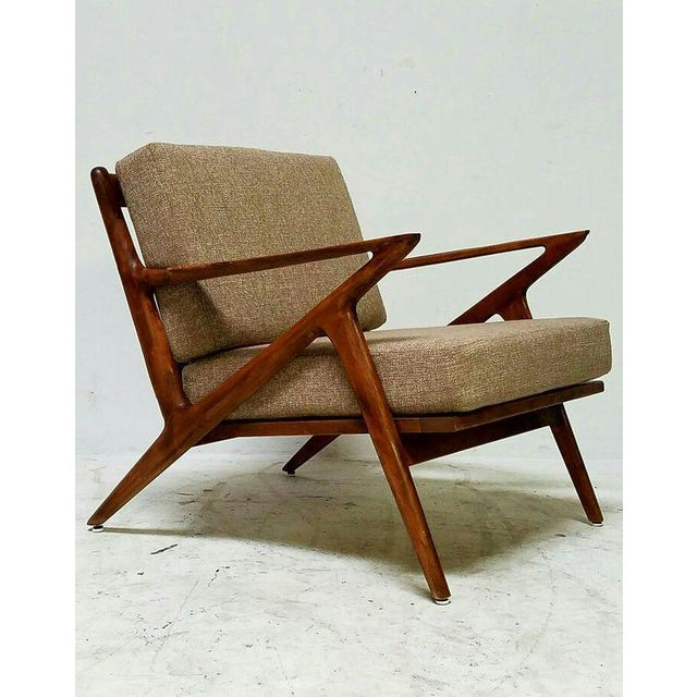 Mid century vintage z chair chairish for Z chair mid century