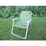 Image of Vintage Child's Lawn Chair
