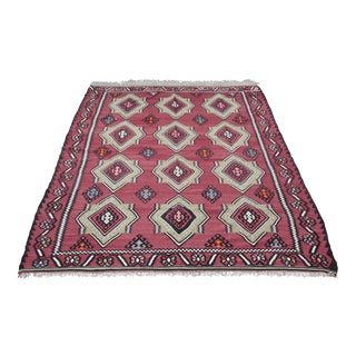 Turkish Kilim Rug - 7′4″ × 9′6″