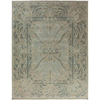 """Shalimar Hand Knotted Area Rug - 10' 0"""" X 13'"""