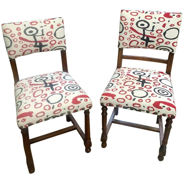 Image of Vintage Occasional Side Chair - A Pair