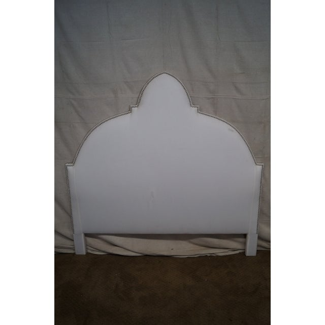 Avery Boardman Upholstered Queen Size Headboard - Image 6 of 10