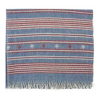 Limited Edition Handmade Organic Cotton Throw
