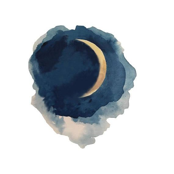 Moon Series- Waxing Crescent - Image 2 of 3