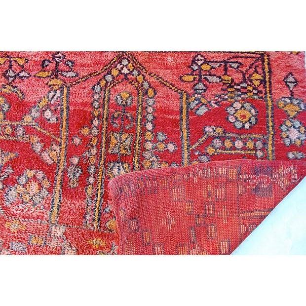 Vintage Moroccan Tribal Rug - 5′1″ × 8′2″ - Image 4 of 5