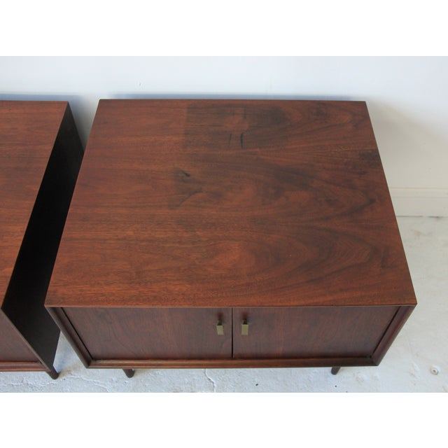 Vintage Mid Century Modern End Tables - Pair - Image 5 of 7