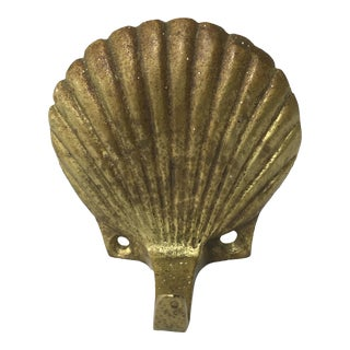 Brass Seashell Wall Hook