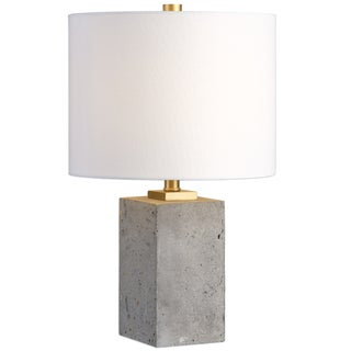 Petite Concrete Base Lamp