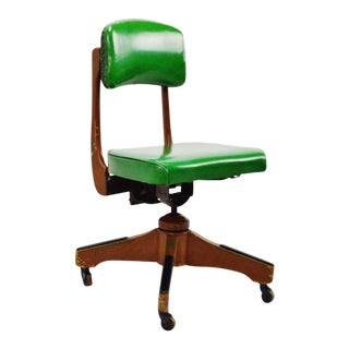 Taylor Chair Company Mid-Century Adjustable Desk Chair