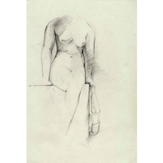 Study of a Female Figure Drawing