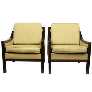 Danish Regency-Style Armchairs - Pair