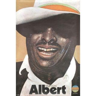 Milton Glaser Albert King Poster