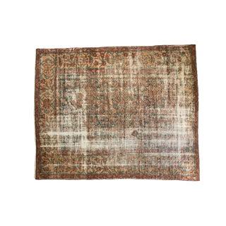 """Distressed Mahal Carpet- 8' x 9'11"""""""