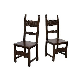 Italian Side Chairs - Pair