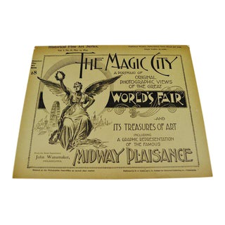 1894 Chicago World's Fair Magic City Illustrated Photo 19 Volume Book Collection