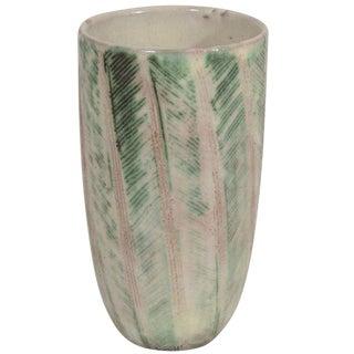 Nancy Wickham Studio Pottery Vase