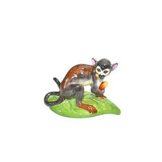 Ceramic Monkey Figurine Lynn Chase Designs