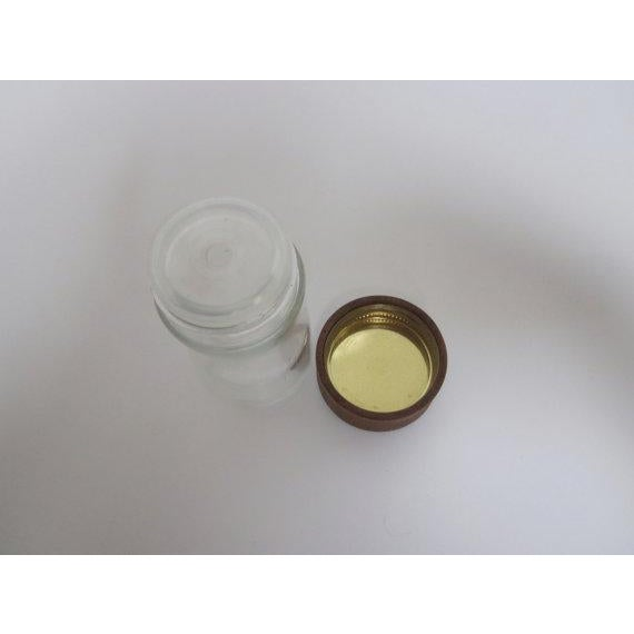 Digsmed Teak Glass Spice Jar - Image 3 of 9