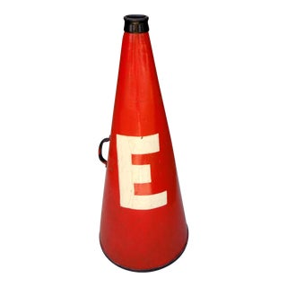 Authentic 1950's Cheerleader Megaphone