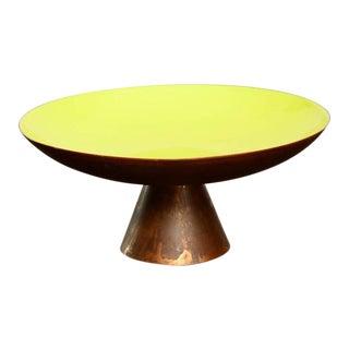 Enamel on Copper Dish